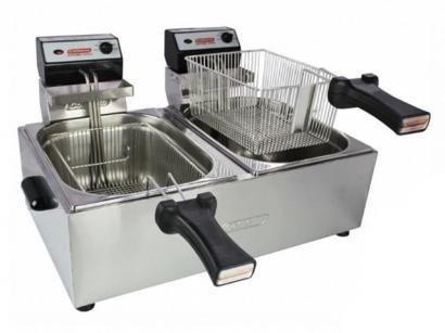 Fritadeira Elétrica Industrial Cotherm - Profissional 10L com 2 Cestos