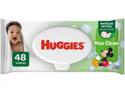 Lenços Umedecidos Huggies Classic Max Clean - 48 Unidades