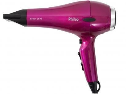Secador de Cabelo Philco Beauty Shine - com Íons 2000W 2 Velocidades