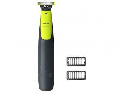 Aparelho de Barbear/Barbeador Elétrico Philips - OneBlade Seco e Molhado com...