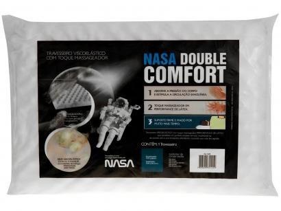 Travesseiro Nasa Fibrasca Viscoelástico - NASA Double Comfort