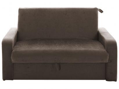 Sofá-cama Casal 2 Lugares Suede - Retrátil e Reclinável Matrix Mariela