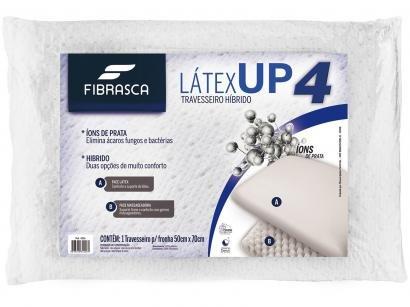 Travesseiro Látex Fibrasca UP4 - 1 Peça