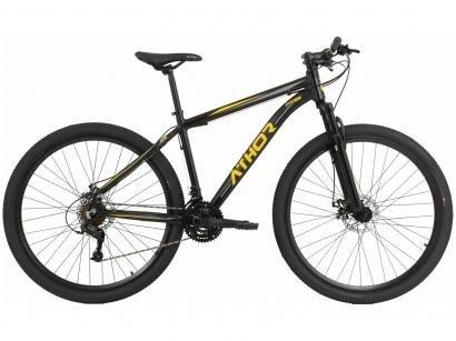 Mountain Bike Aro 29 Athor Premium Titan - Alumínio Freio a Disco 21 Marchas