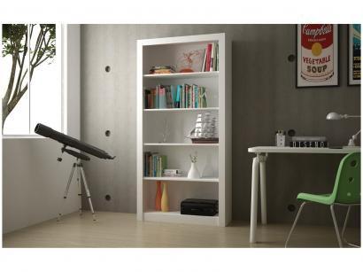 Estante para Livros/Livreiro 4 Prateleiras - BRV Móveis BL 64-06