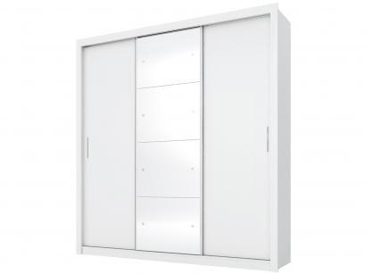 7099e83e3 Guarda-roupa Casal 3 Portas de Correr 2 Gavetas - Demóbile Residence II com  Espelho