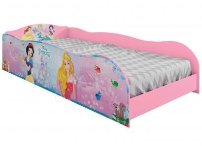 Cama Infantil Princesas Pura Magia Disney Plus - 88x188cm