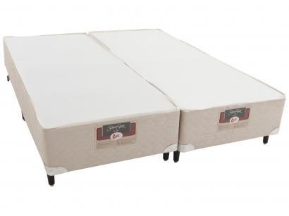 Box para Colchão King Size Castor Bipartido - 27cm de Altura Silver Star Air