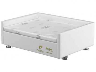 Cama Box para Cachorro e Gato M Probel - PróPet Luxo Branca
