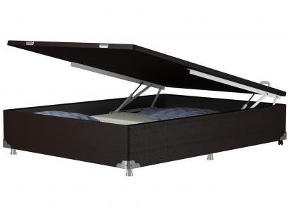Base Cama Box Casal Probel com Baú 40cm de Altura - Luxo