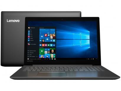 "Notebook Lenovo Ideapad 320 Intel Dual Core - 4GB 500GB LED 15,6"" Windows 10"