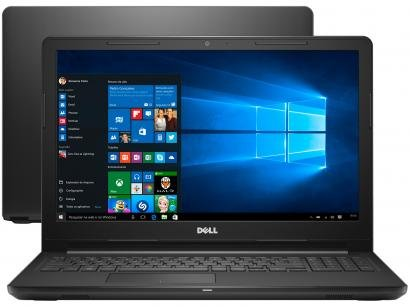 "Notebook Dell Inspiron i15-3576-A72C Intel Core i7 - 8GB 2TB LED 15,6"" Placa de..."