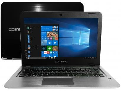 "Notebook Compaq CQ15 Intel Dual Core 3350 4GB - 500GB 14"" Windows 10"
