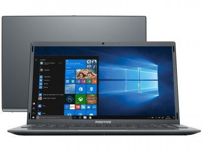 "Notebook Positivo Motion Gray Q4128C-S Intel Atom - 4GB 128GB eMMC 14,1"" LED Windows 10"