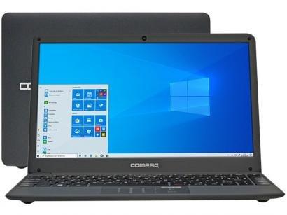 "Notebook Compaq Presario CQ-27 Intel Core i3 4GB - 120GB SSD 14"" Windows 10"
