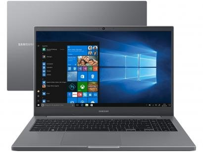 "Notebook Samsung Book NP550XDA-KO1BR - Intel Celeron 4GB 500GB 15,6"" Full HD LED"