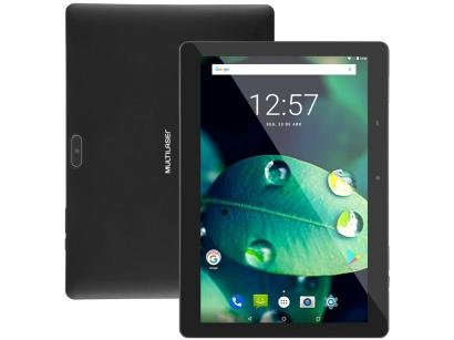 """Tablet Multilaser M10A Lite 10"""" 3G Wi-Fi 32GB - Android 10 Quad-Core Câm. 5MP"""