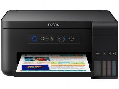 Impressora Multifuncional Epson EcoTank L4150 - Tanque de Tinta Wi-Fi Colorida...