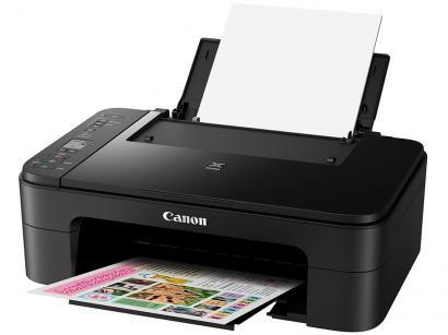 """Impressora Multifuncional Canon TS 3110 - Jato de Tinta Wi-Fi Colorida LCD 1,5""""..."""