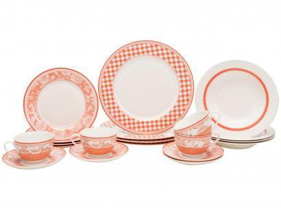 Aparelho de Jantar 20 Peças Meridional Porcelana - Redondo Berna
