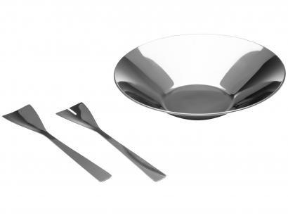 Conjunto para Salada Suprema 100% Aço Inox - Brinox 2112/100