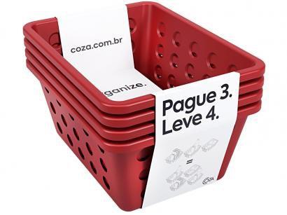Kit Cestas 4 Peças Coza - Cestas One