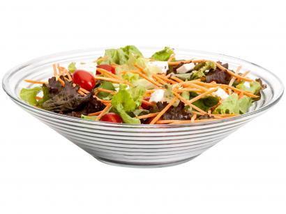 Saladeira de Vidro Redonda Ruvolo - Gourmet
