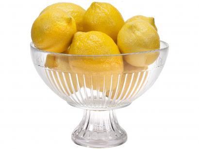 Fruteira de Mesa de Vidro Ruvolo Redonda - Cristaleira 10044100016