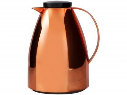 Bule para Chá e Café Térmico Metalizado - Merlot 750ml Viena