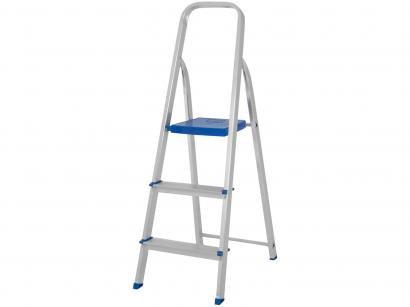 Escada Alumínio 3 Degraus Mor - 5101