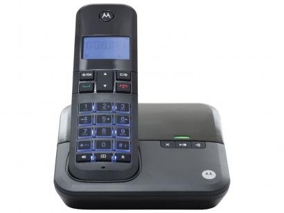 Telefone Sem Fio Motorola MOTO4000SE Multi Ramal - com Identificador de...