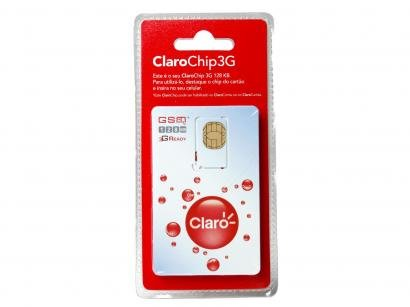 Chip Claro 3G Pré-Pago - DDD 17 SP