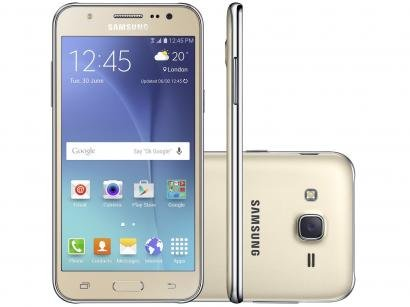 Smartphone Samsung Galaxy J5 Duos 16GB Dual Chip - 4G Câm. 13MP + Selfie 5MP...