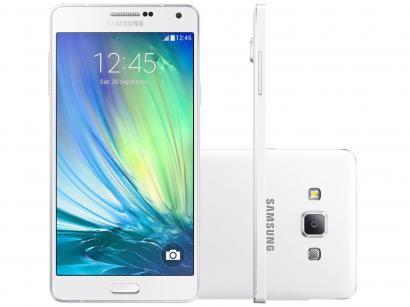 Smartphone Samsung Galaxy A7 Duos 16GB Branco - Dual Chip 4G Câm. 13MP + Selfie...