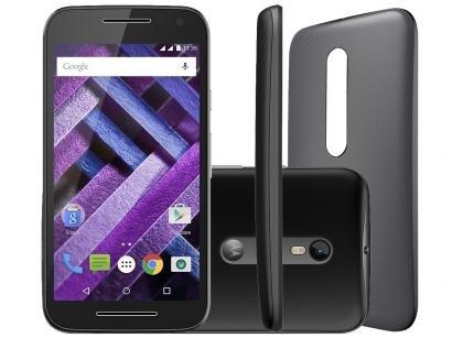 Smartphone Motorola Moto G 3ª Geração Turbo 16GB - Dual Chip 4G Câm. 13MP +...