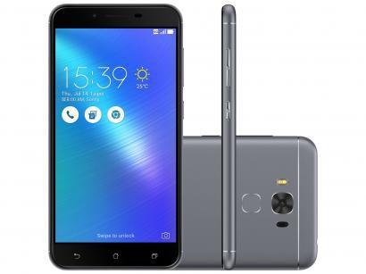 Smartphone Asus ZenFone 3 Max 32GB Cinza Dual Chip - 4G Câm. 16MP + Selfie 8MP...
