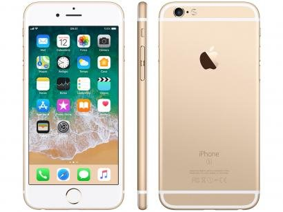 "iPhone 6s Apple 32GB Dourado 4G Tela 4.7"" Retina - Câm. 12MP + Selfie 5MP iOS..."