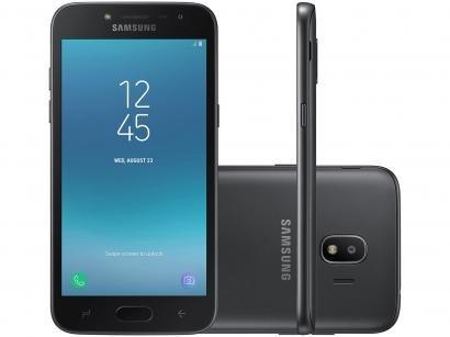Smartphone Samsung Galaxy J2 Pro 16GB Preto - Dual Chip 4GB Câm. 8MP + Selfie...