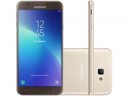 Smartphone Samsung Galaxy J7 Prime 2 32GB Dourado - Dual Chip 4G Câm. 13MP +...