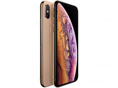 "iPhone XS Apple 64GB Dourado 5,8"" 12MP - iOS"