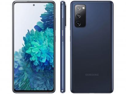 "Smartphone Samsung Galaxy S20 FE 128GB Cloud Navy - 6GB RAM Tela 6,5"" Câm. Tripla + Selfie 32MP"
