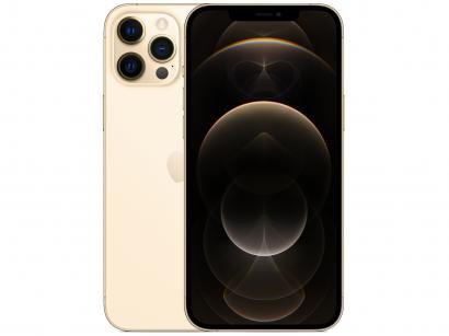 "iPhone 12 Pro Max Apple 128GB Dourado 6,7"" - Câm. Tripla 12MP iOS"