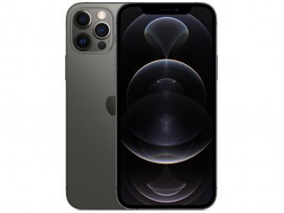 "iPhone 12 Pro Apple 256GB Grafite 6,1"" - Câm. Tripla 12MP iOS"