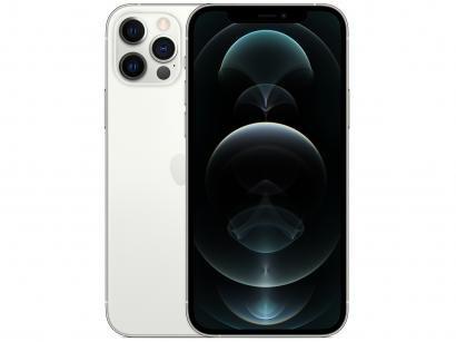 "iPhone 12 Pro Apple 256GB Prateado 6,1"" - Câm. Tripla 12MP iOS"
