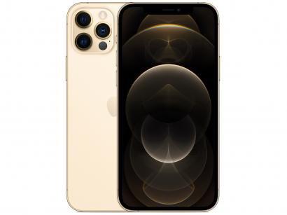 "iPhone 12 Pro Apple 256GB Dourado 6,1"" - Câm. Tripla 12MP iOS"