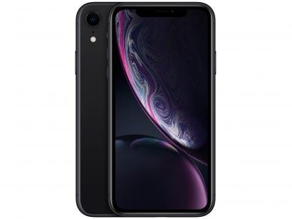 "iPhone XR Apple 128GB Preto 6,1"" 12MP iOS"