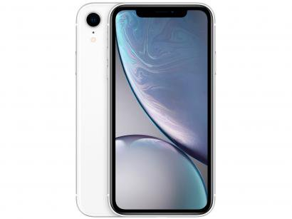 "iPhone XR Apple 128GB Branco 6,1"" 12MP iOS"