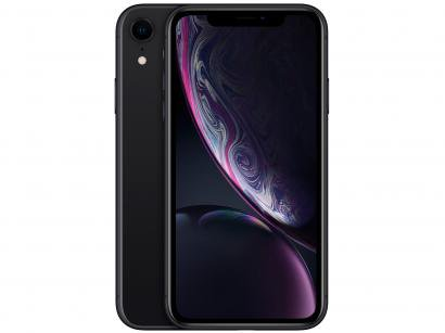 "iPhone XR Apple 64GB Preto 6,1"" 12MP iOS"
