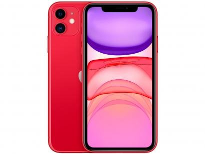 """iPhone 11 Apple 128GB (PRODUCT)RED 6,1"""" 12MP iOS - MHDK3BR/A"""