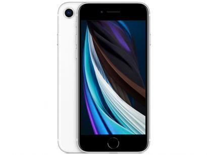 "iPhone SE Apple 256GB Branco Tela 4,7"" 12 MP - iOS"